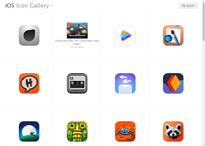 موقع iOS Icon Gallery