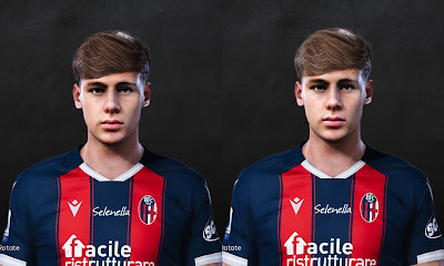 PES 2021 Faces Aaron Hickey by VN HUY BUI