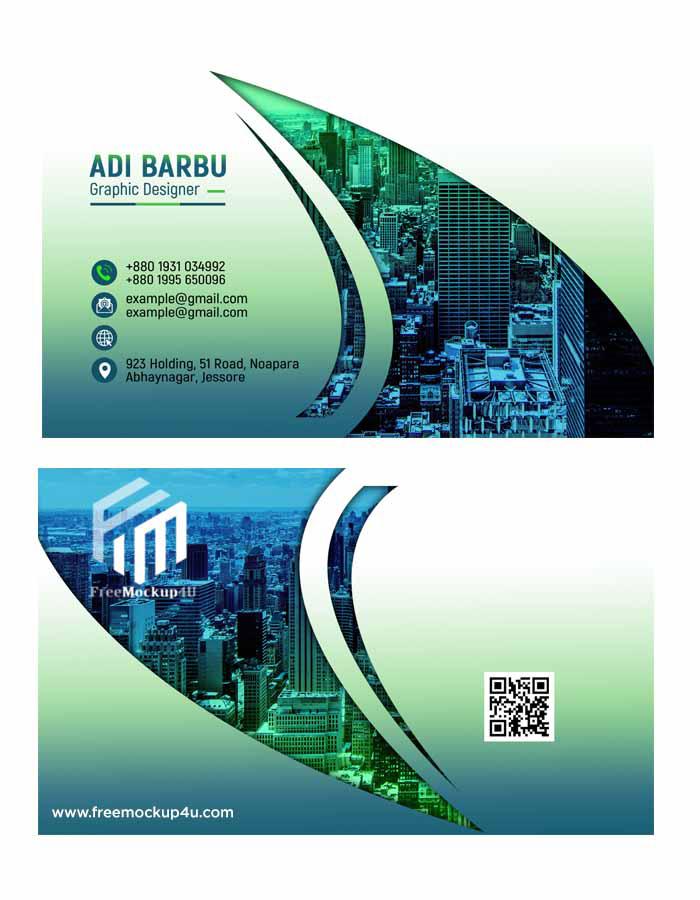 Creative Elegant Business Card Design Psd Template