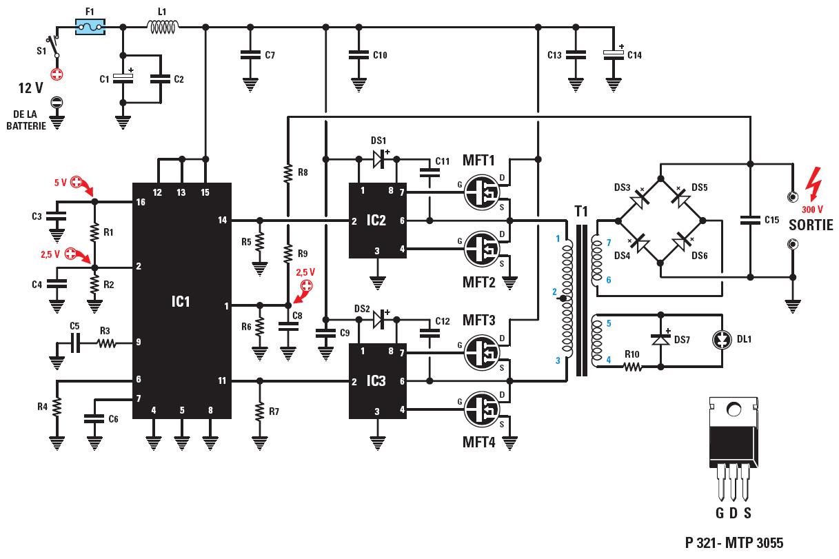 Comment alimenter en 12 volts les ampoules à économie d\'énergie ...