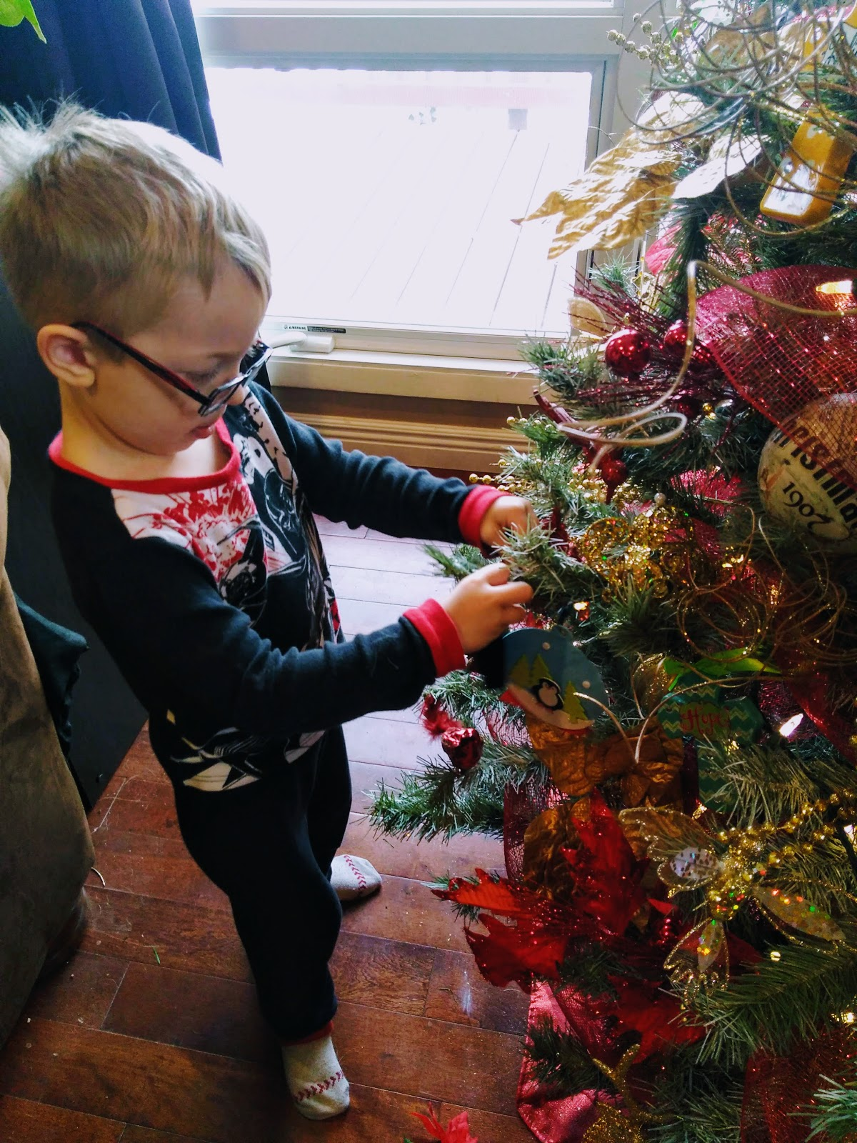 Snips And Snails And Puppy Dog Tales Decorating For Christmas