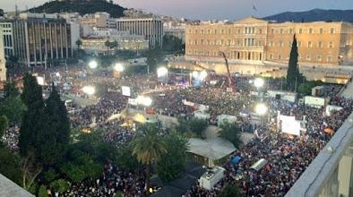 οι υποστηρικτές του «Όχι» στις 19:30, με σύνθημα «Κάτω τα χέρια από τη δημοκρατία»