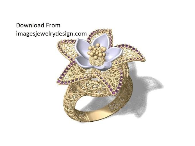 Ring rhino 6 gold jewellery design