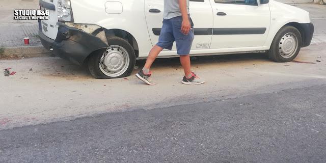 Τροχαίο ατύχημα με μηχανή στο Άργος - Τραυματίας ο οδηγός
