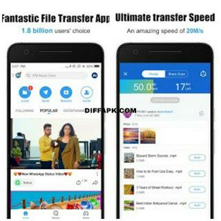 SHAREit – Transfer & Share Apk v5.7.9_ww [Mod Ads Free]