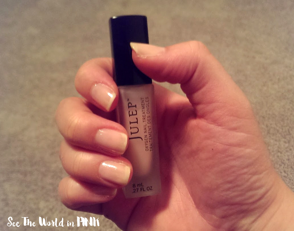 Manicure Monday (julep oxygen treatment) | See the World in PINK