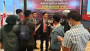 Pengurus IKADIN NTB Resmi Dilantik Bakal Kedepankan Mediasi Kasus