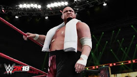 WWE 2K18 character