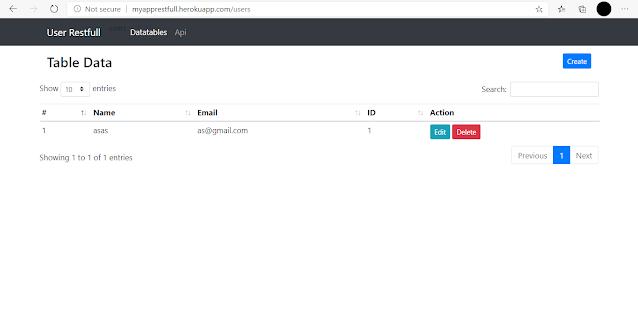 Konfigurasi laravel variable environment, Deploy laravel heroku cli mysql