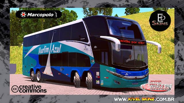 PARADISO G7 1800 DD 8X2 - VIAÇÃO MARLIM AZUL