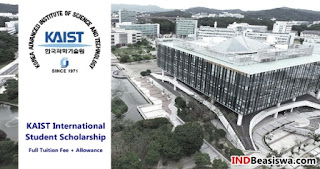 beasiswa korea selatan s1 full kaist international student scholarship