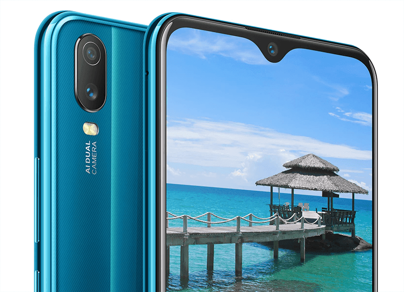 Rear and front-facing cameras