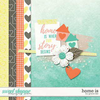 EXPIRED: Digi Scrap Parade: Home Is...