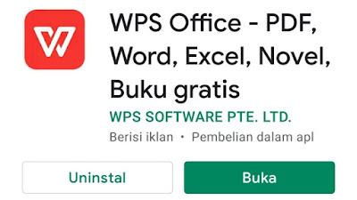 Cara Mengetik Word di Android Dengan Aplikasi WPS Office