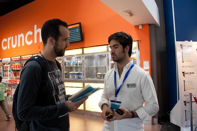 Ignacio Rodríguez en un momento de la entrevista