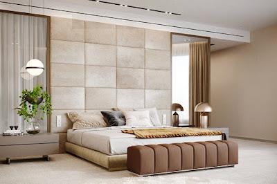 Desain Dinding Kamar Tidur