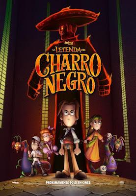 La Leyenda Del Charro Negro 2017 DVD R4 NTSC Latino