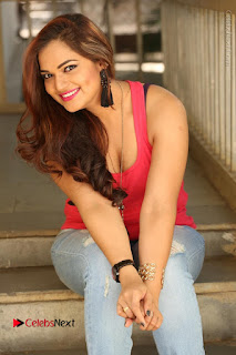 Tollywood Actress Ashwini Latest Stills in Ripped Jeans  0178.JPG