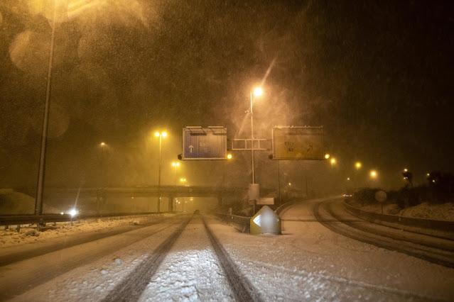 У Хорватії - потужні снігопади
