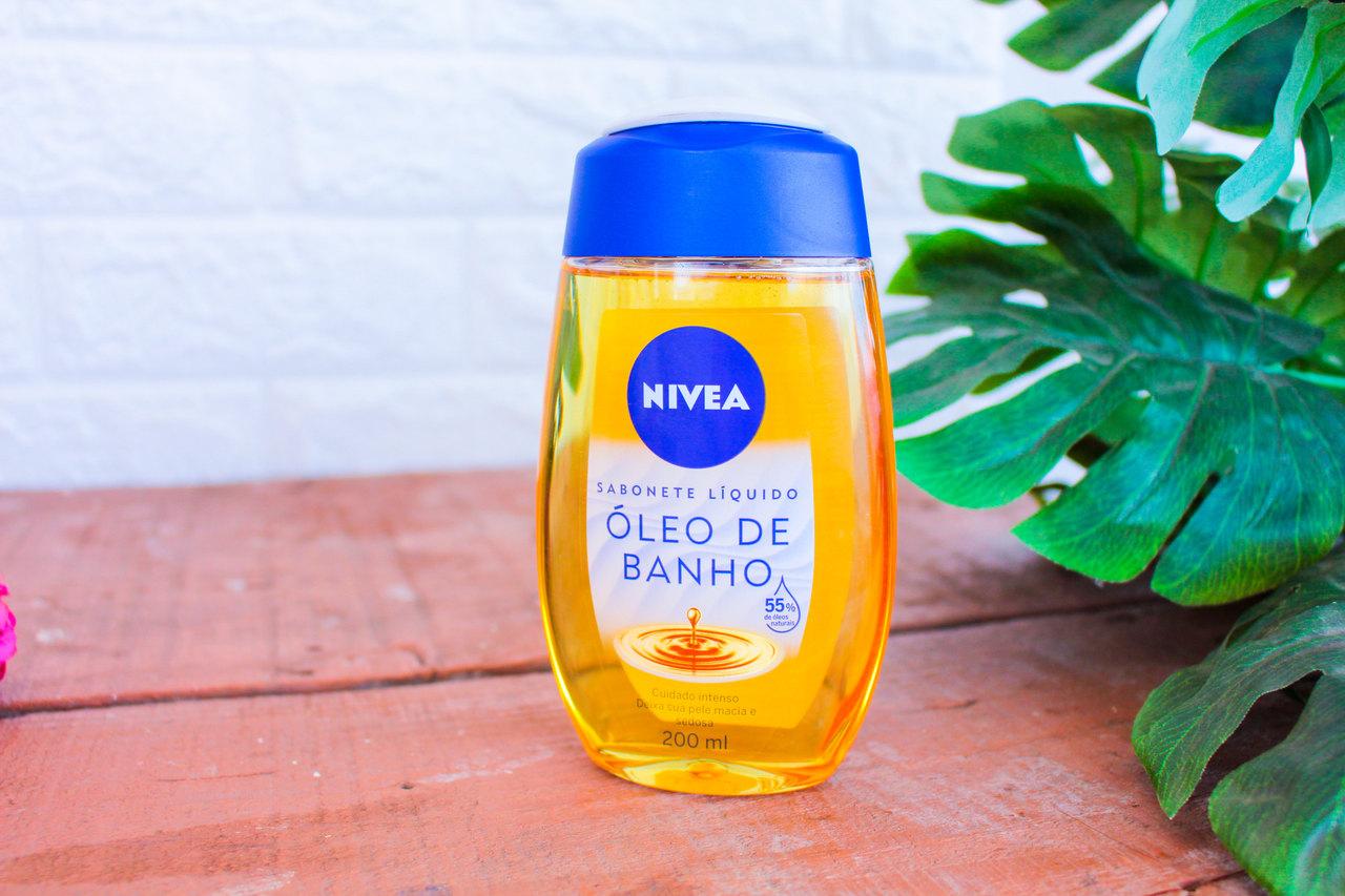 Resenha: Sabonete Líquido Óleo de Banho Nívea