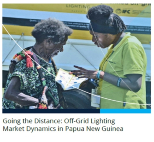 Off grid solar in png