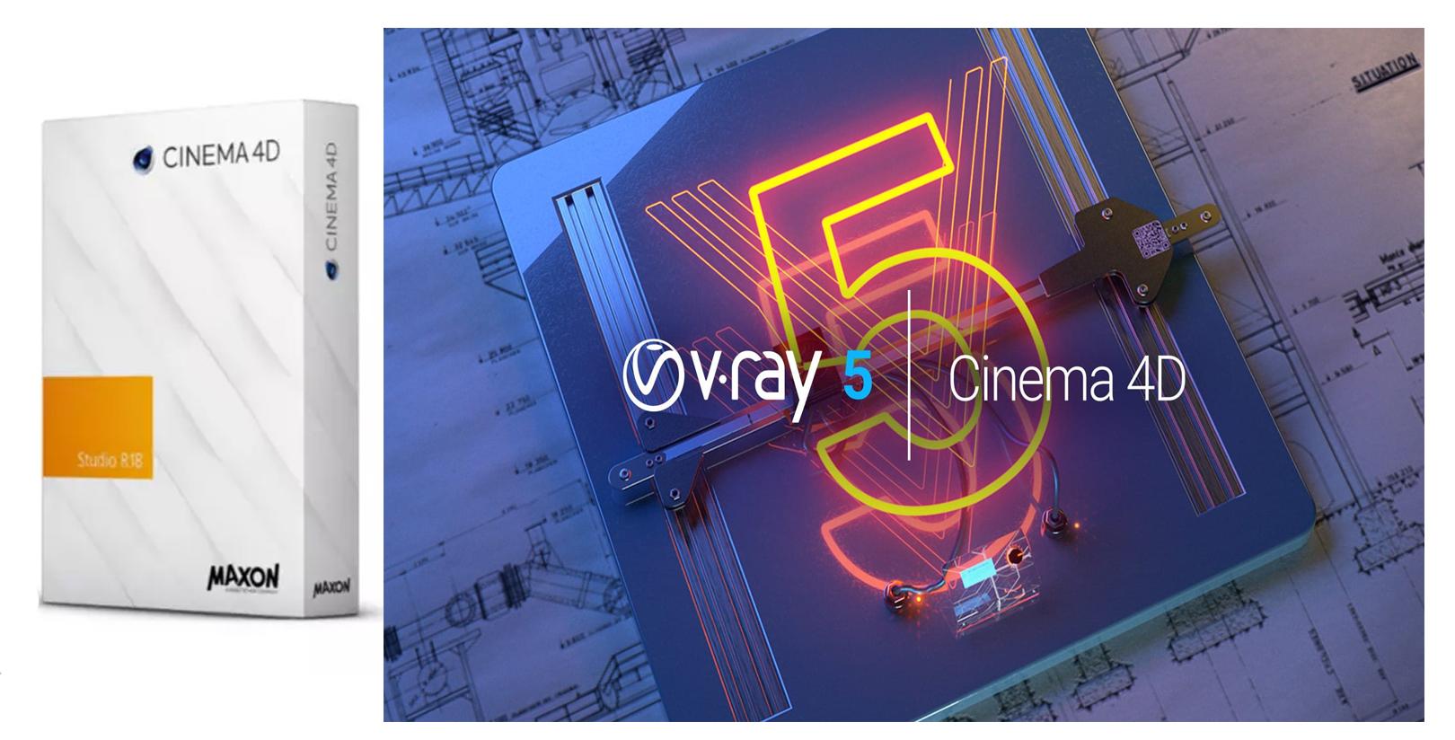 Cara Install Cinme 4D Plus VRay Full Version