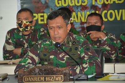 Danrem 162/WB Kolonel Czi Ahmad Rizal Ramdahni, S.Sos. SH. M.Han,