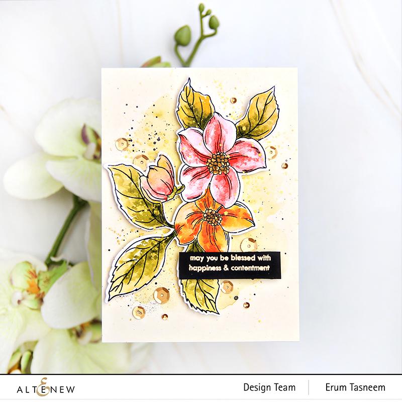 Altenew Altenew Craft Your Life Project Kit: Hello Beautiful | Erum Tasneem | @pr0digy0