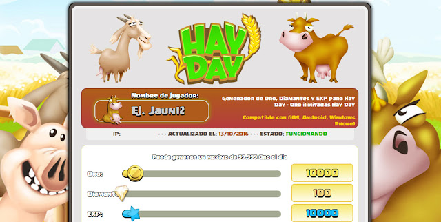 Hay Day Landings Page CPA