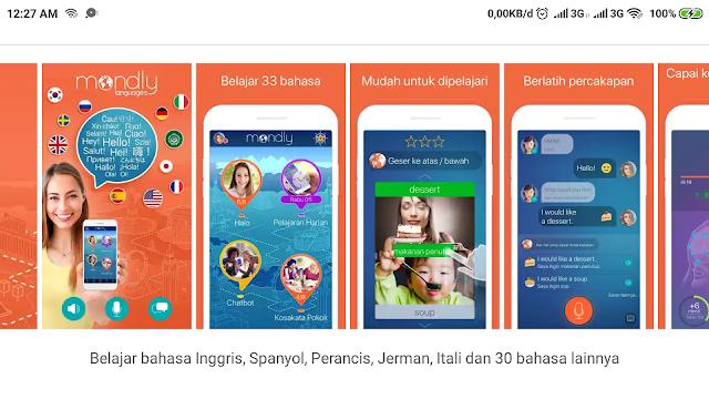 5 Aplikasi Android Untuk Belajar Bahasa Inggris dan Bahasa Asing Lainnya