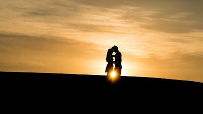 Sevgili, Aşk, Çift, Gün batımı, Romantik