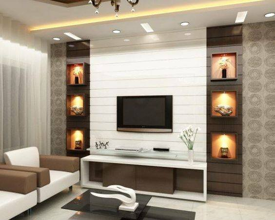 MyHousePlanShop: Modern Designs For Best Living Room Wall ...