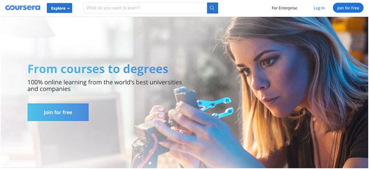 Coursera - Website Belajar Coding Online untuk Programmer Pemula