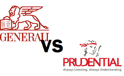 Asuransi Prudential VS Generali