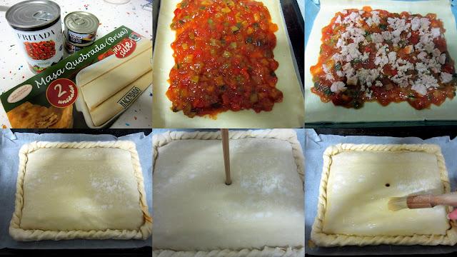 cocinitas 2 - Empanada de Pisto y Atún