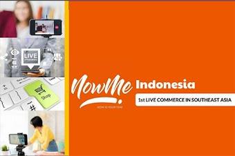 NowMe Live Commerce Kini hadir di Indonesia