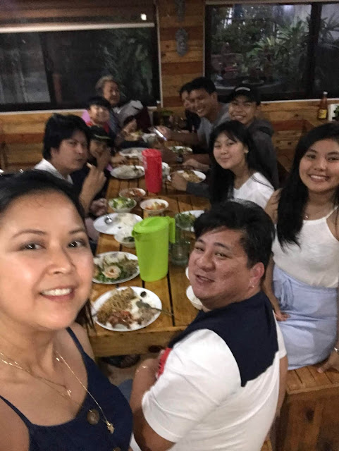 Buffet Dinner at Ima Floras Pamangan