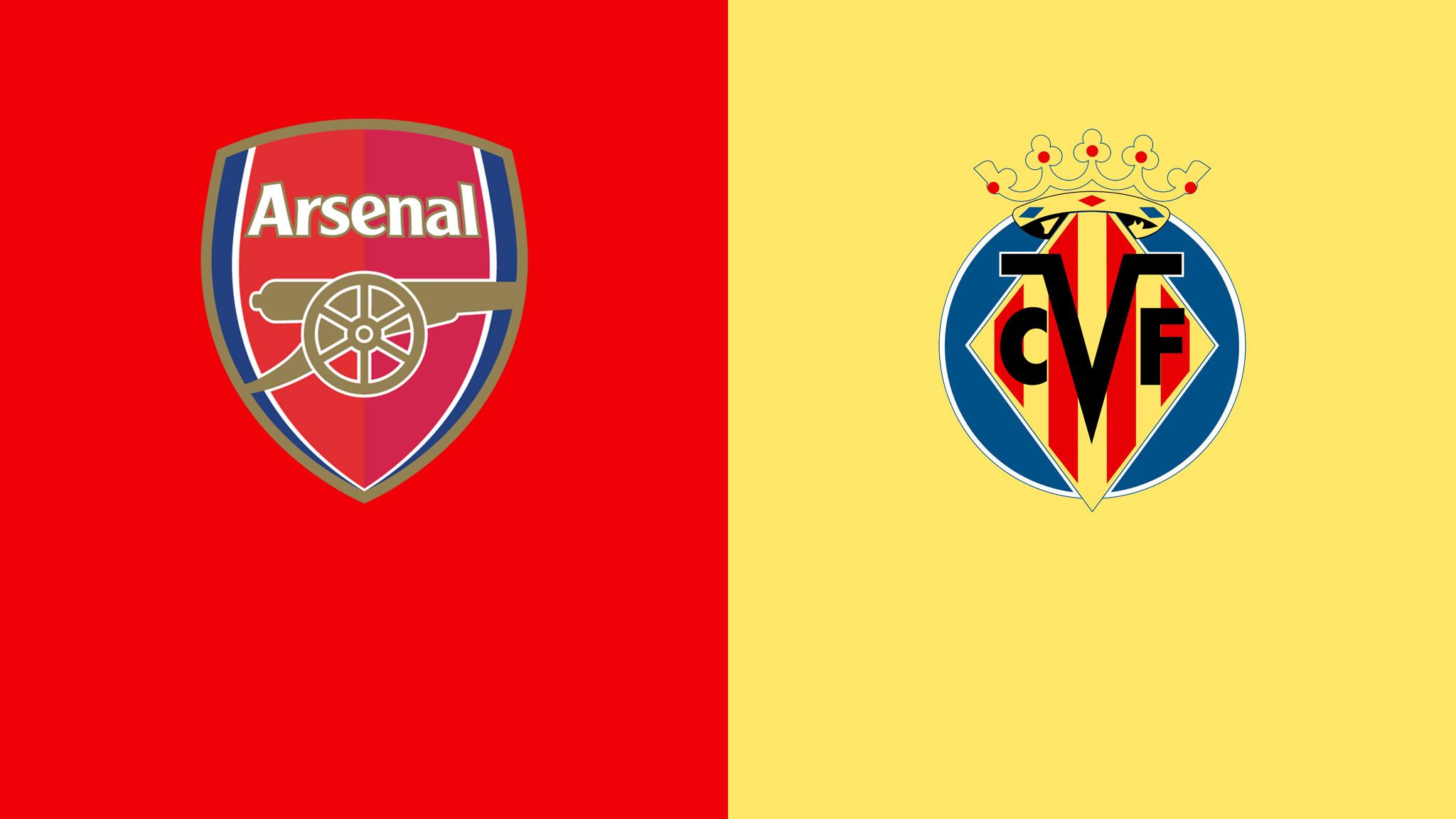 Arsenal vs Villarreal Europa League
