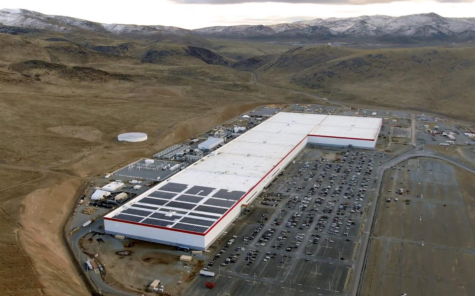 Tesla gigafactory Reino Unido
