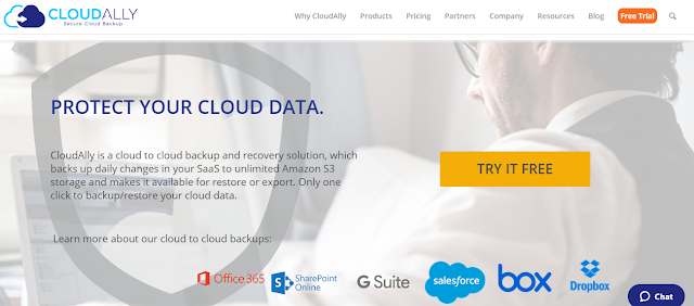 CloudAlly backup solution