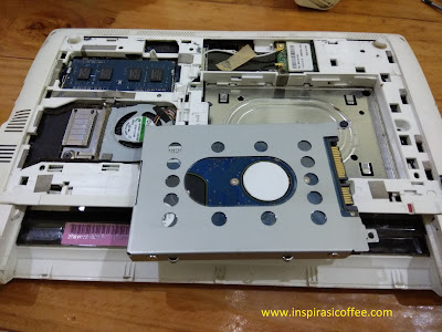 Harddisk Laptop Acer Aspire One dilepas