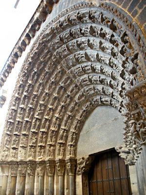 Puerta del Juicio Final; Catedral; Tudela; Navarra; Nafarroa