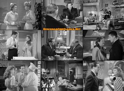 Capturas: Cena de Navidad(1945) Christmas in Connecticut