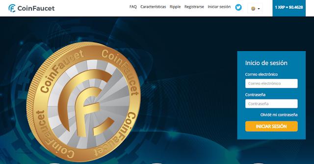 ▷ Coinfacuet.io | Método para ganar XRP gratis con la ruleta.
