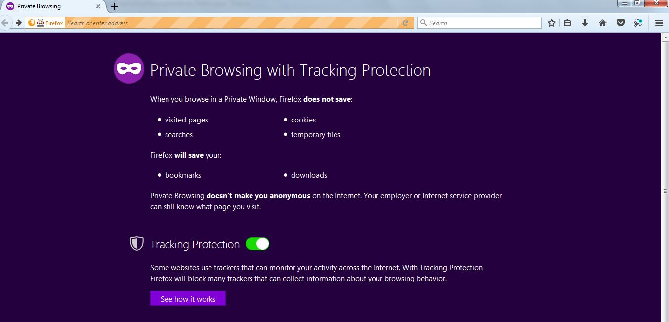 Running FireFox Browser in Incognito (Private) using Selenium - QA