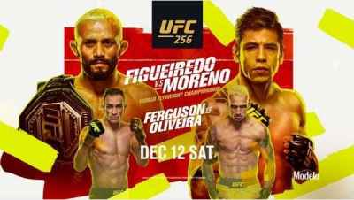 Watch UFC 256 Figueiredo vs Moreno 12 December 2020 Live Stream and Replay
