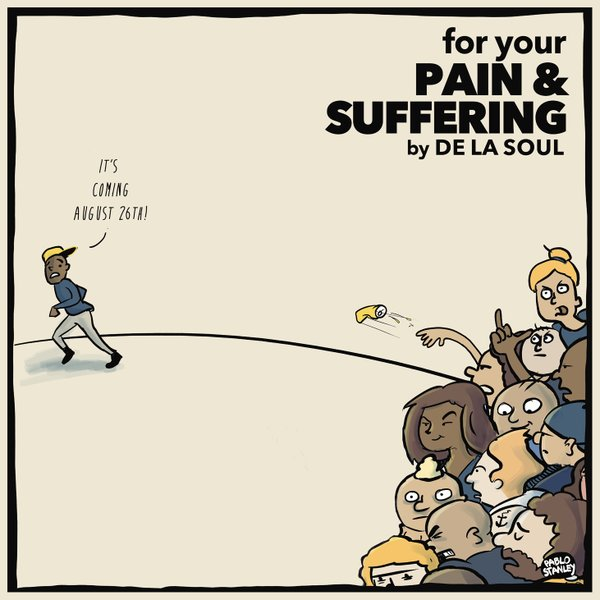 De La Soul – For Your Pain and Suffering EP | Full EP Stream