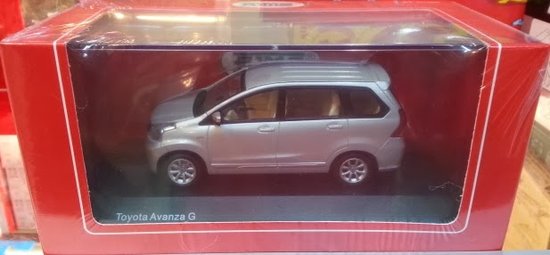 Diecast Grand New Avanza Dashboard Veloz Rims J Collection Vittese 1 43 Special And Limited Item Toyota G Silver