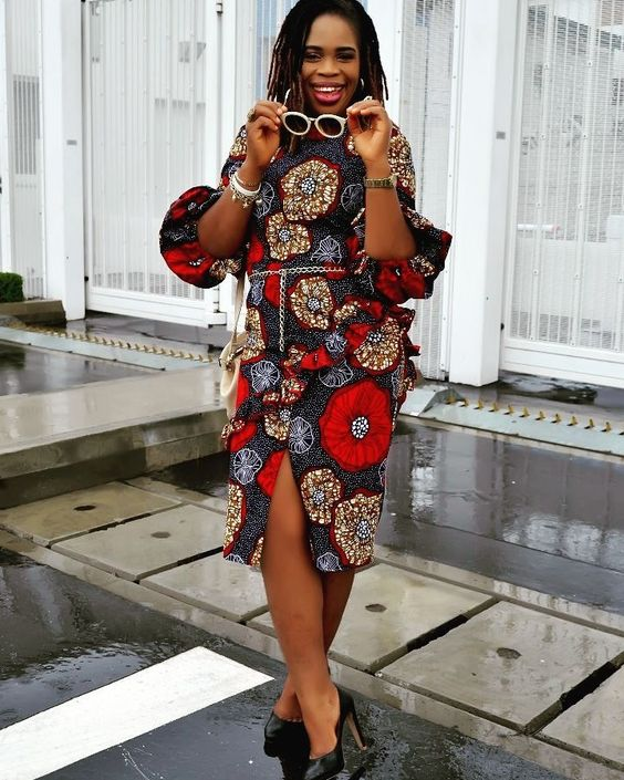 Temmie House Of Fashion Simple Ankara Short Gown For The Pretty Ladies