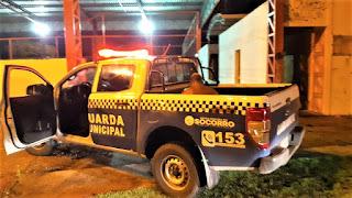 Suspeito de assaltar ônibus usando ESPADA e preso pela Guarda de Socorro
